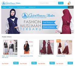 Contoh Web Toko Online Hijab b0896b4f66