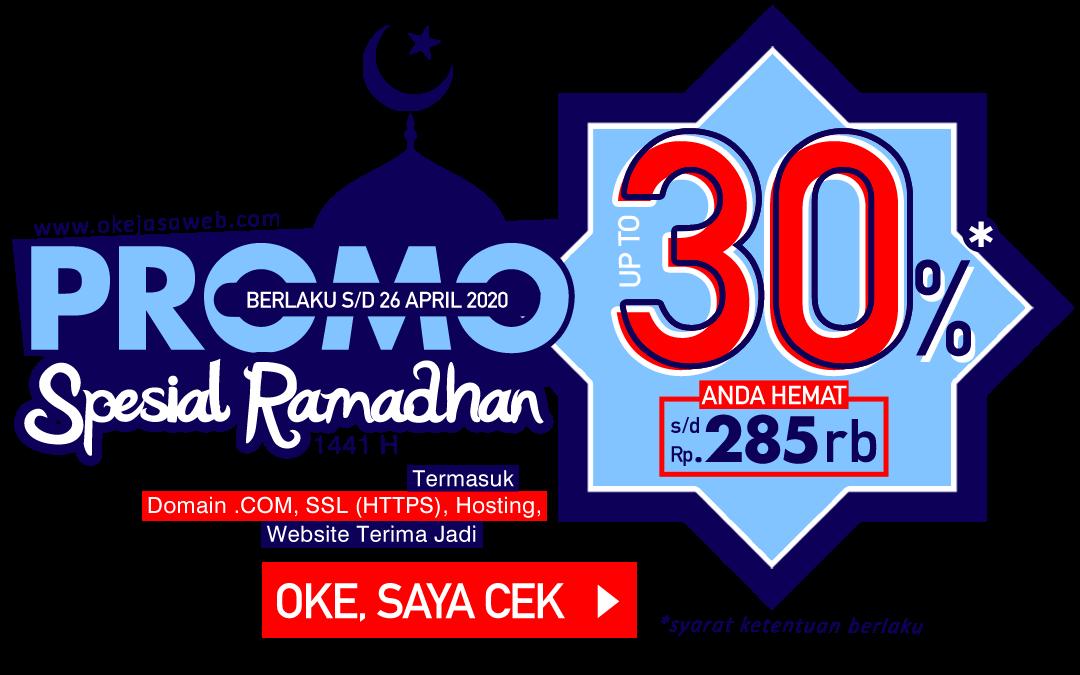 Promo Spesial Ramadhan Diskon Hingga 30%