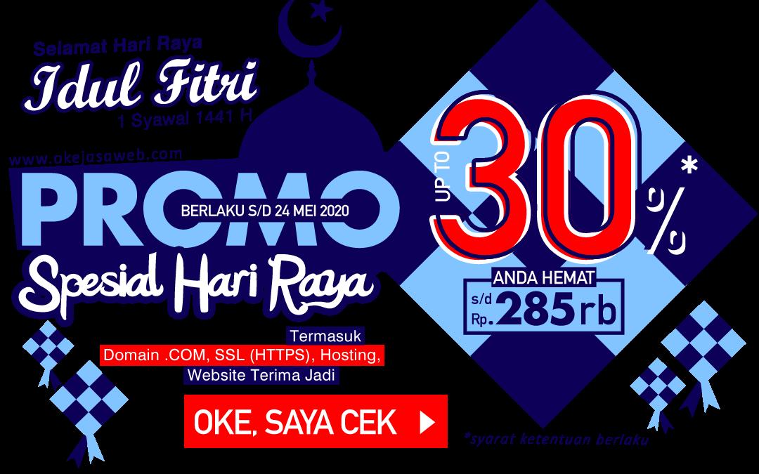 Promo Spesial Hari Raya Idul Fitri 1441 H